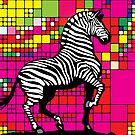 The Zebra! Art Prints by Denis Marsili