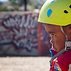 Determined young skater by Craig Higson-Smith