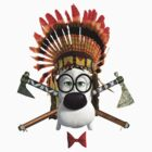 Mr. Peabody Indian by markusian