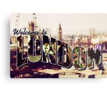 Welcome To London - Sherlock Version #2 Metal Print