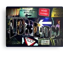 Welcome To London - Sherlock Version #3 Metal Print