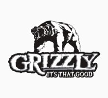 Grizzly Smokeless Taobacco by heavymanchad