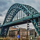 The Tyne Bridge by Giorgio Elesaro