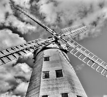 Upminster Windmill Essex England by DavidHornchurch
