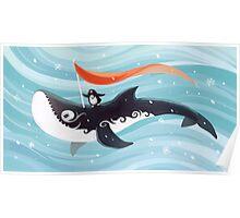 Grandpa Orca Poster