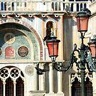 Venice lamp by annalisa bianchetti