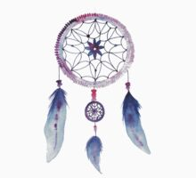 Dreamcatcher Watercolor Illustration by tachadesigns