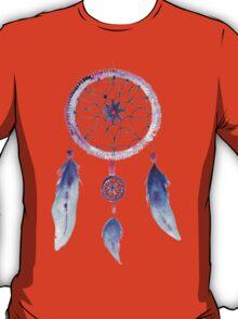 Dreamcatcher Watercolor Illustration T-Shirt