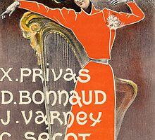 Poster for Cabaret Des Arts by Bridgeman Art Library
