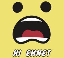HI Emmet!  by TheCrimzon