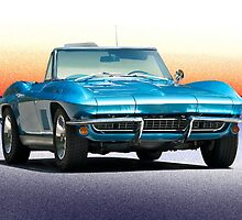 1967 Chevrolet Corvette Convertible by DaveKoontz