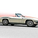 1966 Chevrolet Corvette Convertible by DaveKoontz