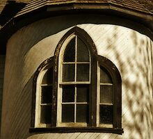 Window in the Turret by Dorothy  Pinder