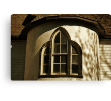 Window in the Turret Canvas Print