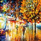 CITY MOVEMENT by Leonid  Afremov