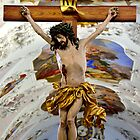 The Cross of Jesus Christ in Stams Monastery by Elzbieta Fazel