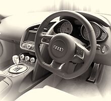Audi R8 Interior by Nigel Bangert