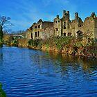 Neath Abbey & Tennant Canal by Paula J James
