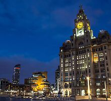 Royal Liver Building by Paul Madden