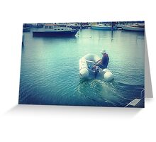 *Going fishing - Where is my Boat! - Williamstown, Vic. Greeting Card