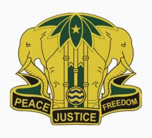 40th Military Police Battalion - Peace Justice Freedom by VeteranGraphics