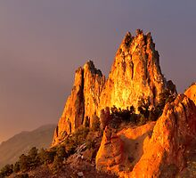 Gorgeous Light at Garden of the Gods by RondaKimbrow