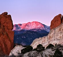 Pikes Peak ~ America's Mountain by RondaKimbrow