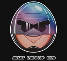 Angry RoboCop Bird by xeracx