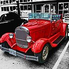 Little Red Convertible  by rharrisphotos