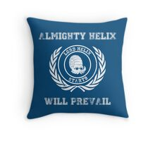 Lord Helix Throw Pillow