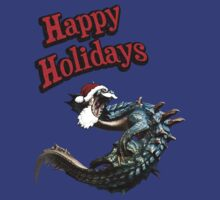 Lagiacrus Wishing you the best of Holidays by HTM77
