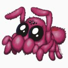 Cute Pink Spider by bogleech