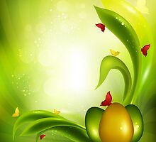 Easter  Background by Olga Altunina