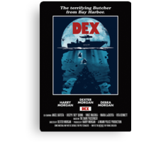 Dex Poster Canvas Print