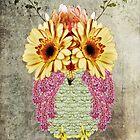 Floral Owl by BluAlien
