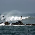SURFING by TomBaumker
