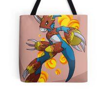 Flamedramon Tote Bag