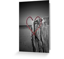 Hooked On You  Greeting Card