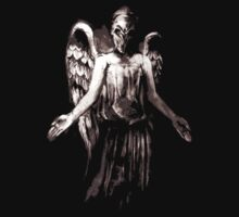 Weeping angel art by nomnomnomdesigs