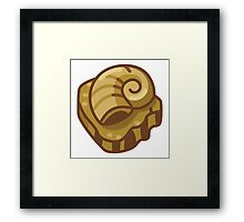 Almighty Helix Fossil Framed Print