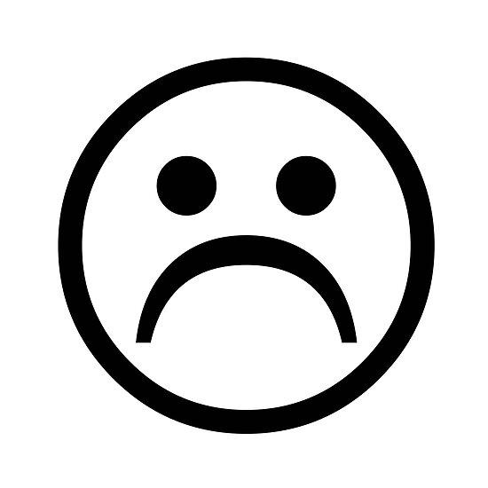 Sad Boy Face [Black] by wilu