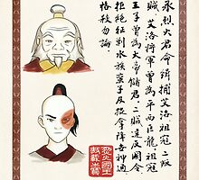 Avatar the Last Airbender - Zuko & Iroh Wanted Poster by rejectpenguin