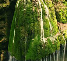 Unique waterfall in Romania by Sandra Kemppainen