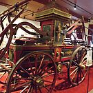 Classic Fire Engine, Veteran Pumper, Philadelphia-Style Pumper, Circa 1838, New York City Fire Museum, New York City by lenspiro
