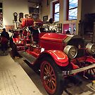 Classic Fire Engine, Type 75 American LaFrance Engine, Circa 1921, New York City Fire Museum, New York City by lenspiro