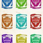 Condensed Milk Colours by Karolis Butenas