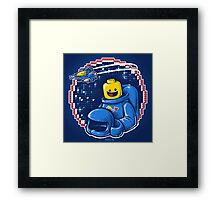 Portrait of a Space-Man Framed Print