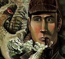 Sherlock Holmes and Cthulhu's Call by Ericroseart