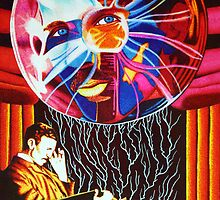 Nikola Tesla Master of Invention by JMCSharpieArt
