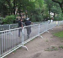 Steel Pedestrian Barricade by buyersbarricade